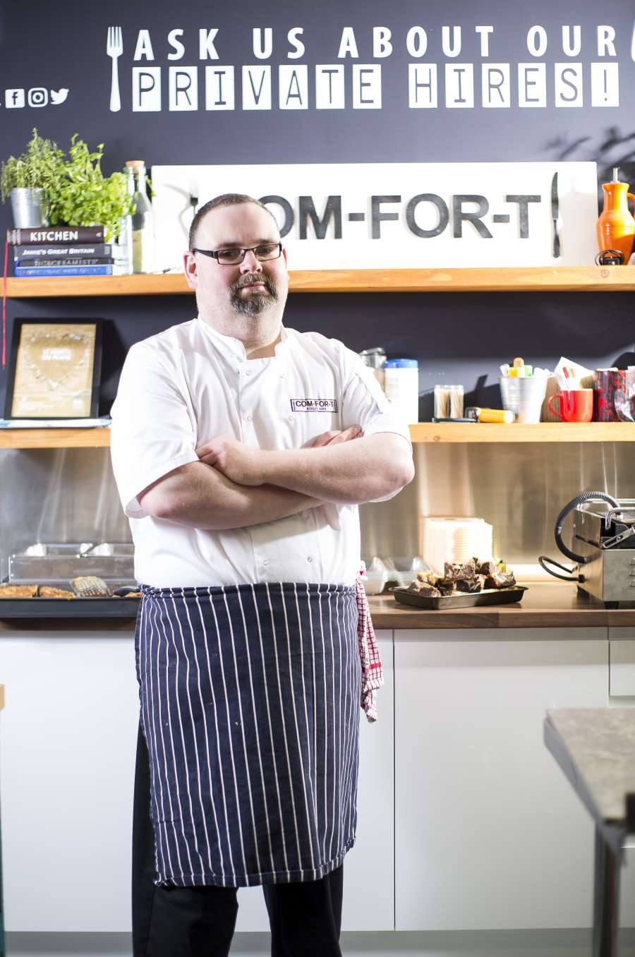 Alan Simpson - Com-For-T Street Food Takeaway in Carlisle